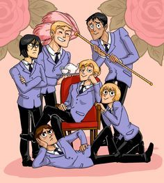 I love this.. Shingeki No Kyojin/Attack On Titan x Ouran High School Host Club.