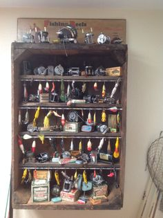 Old lures and reels