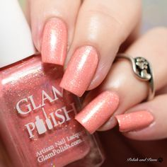Glam Polish I'm sorry I bit you and Pulled your Hair