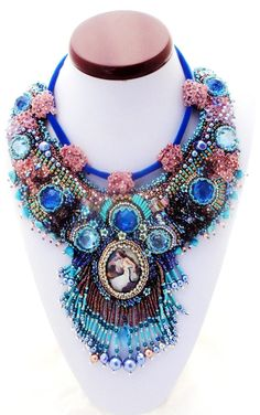 High fashion statement necklace