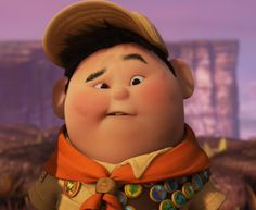 """""""Kevin's a girl?"""" - Russell, """"Up"""""""