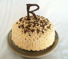 Brooke Bakes : Chocolate Fudge Cake with Peanut Butter Icing