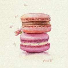 Iryna Ovchynnikova : Spring Macarons