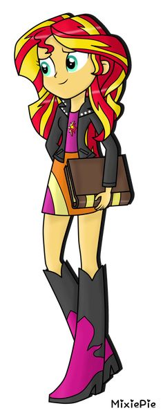 Sunset Shimmer by MixiePie on DeviantArt