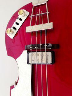 Hofner Contemporary Bass Cherry