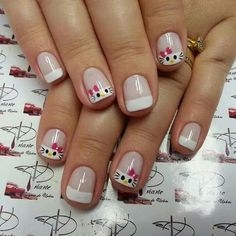 Disney Nail Designs, Nail Art Designs, Dolphin Nails, Nails For Kids, Disney Nails, Get Nails, Mani Pedi, Cosmetology, Natural Nails