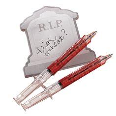Syringe Pens - OrientalTrading.com
