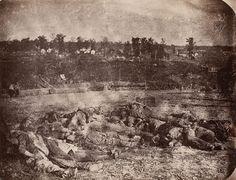 Mort confédérés à Vicksburg, Mississippi, 1863, tirage tardif