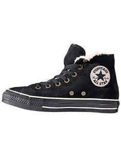 Converse 'All Star Hi Shearling' Leisure Boots - Fashionable leisure shoe with warm lining. From £65. #Converse