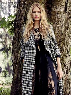 Into The Wild: Anna Ewers by Patrick Demarchelier for Vogue China August 2015 - Chloé Fall 2015