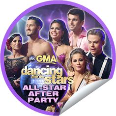 Steffie Doll's Dancing With the Stars All-Star After Party on GMA on November 28! Sticker | GetGlue