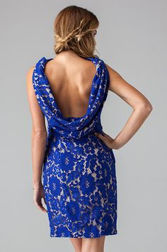 """We are obsessed with this cool cowl-back """"Nori Dress"""" by Eva for Loverly. Perfect for your bridesmaids! via Loverly (http://shop.lover.ly/collections/all-dresses/products/nori-dress)"""