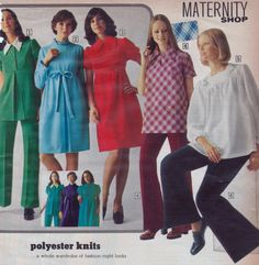 #Womens #1970s #Maternity #Clothes