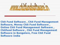 Chitty Groups, Chit Fund App, Chit Fund Calculator, Chit Fund Accounting...