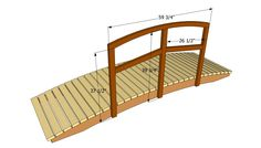 Backyard Bridges | Garden bridge plans | Free Outdoor Plans - DIY Shed, Wooden Playhouse ...