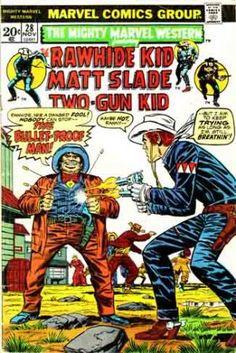 rawhide kid marvel comics | ... #28 - Rawhide Kid, Matt Slade, Two-Gun Kid - Vintage Marvel Comics