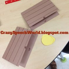 Crazy Speech World: Pirate Craft-ivity...  Treasure chests!