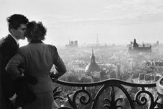 Willy Ronis Les amoureux de la Bastille, Paris, 1957