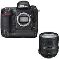 Nikon D3X Digital SLR Camera Body, 24.5 Megapixel - Bundle - with Nikon 24-85mm f/3.5-4.5G ED AF-S VR Nikkor Lens, U.S.A. by Nikon. $8496.95. The Nikon D3X Digital SLR Camera features extreme resolution 24.5-megapixel FX-format (35.9 x 24.0mm) CMOS sensor. Large 5.94m pixels capture astonishing detail and subtleties with outstanding dynamic range for demanding commercial applications. It has Nikon EXPEED image processing technologies which extends and assures breathtakin...