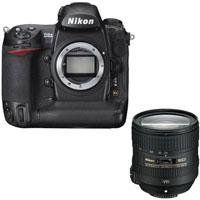 Nikon D3X Digital SLR Camera Body, 24.5 Megapixel - Bundle - with Nikon 24-85mm f/3.5-4.5G ED AF-S VR Nikkor Lens, U.S.A. by Nikon. $8496.95. The Nikon D3X Digital SLR Camera features extreme resolution 24.5-megapixel FX-format (35.9 x 24.0mm) CMOS sensor. Large 5.94m pixels capture astonishing detail and subtleties with outstanding dynamic range for demanding commercial applications. It has Nikon EXPEED image processing technologies which extends and assures breathtak...