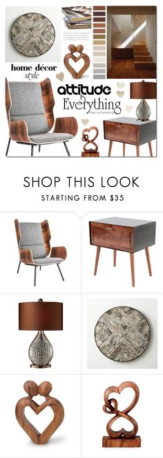 """""""Untitled #1077"""" by valentina1 ❤ liked on Polyvore featuring interior, interiors, interior design, home, home decor, interior decorating, Gus* Modern, Miles & May, Universal Lighting and Decor and Crate and Barrel"""