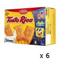 Biscuits Tostarica 860 Grs Normal - Cuetara - Lot 6