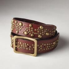 Our BedStü studded leather belt adds a heavenly finish to any look.