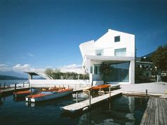 Villa S. - Coop Himmelb (l) au Frank Gehry, Himmelblau, Zaha Hadid, Museum Of Modern Art, Design Firms, Architecture Design, Villa, Austria, Mansions