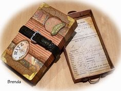 Bumblebees and Butterflies: Altered matchboxes and PSE tutorial...By:Brenda Brown