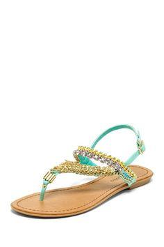 Florence Sandal on HauteLook http://pinterest.com/nfordzho/shoes-flats/