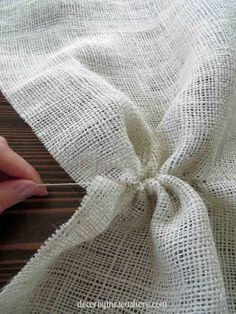 How to Cut Burlap the Right Way - Decor by the Seashore