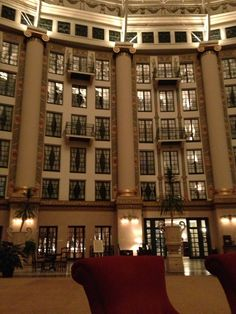 Inside lobby of West Baden Hotel, French Lick, Indiana, 2013