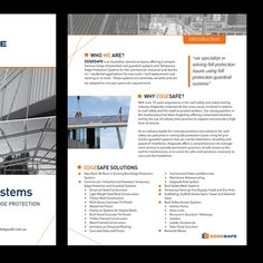 Design a Flyer Brochure for Height Safety / Construction Business by syallaalun