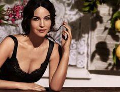 Dolce se inspira en Mónica Bellucci para su nueva línea de maquillaje