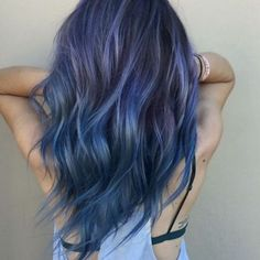 Navy Blue Hair 31