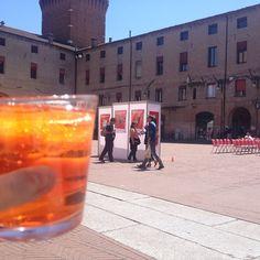 Having an aperitivo in Ferrara - Instagram by lenal17