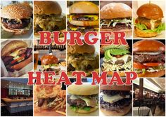 The Burger Heatmap: 15 New Burgers to Eat Right Now in L.A.