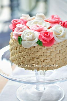 Mini Basket Cake