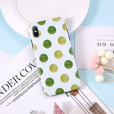 Moskado Phone Case For iPhone 6 6S 7 8 Plus X XR XS Max Case Fashion Simple Colorful Wave Point Soft TPU For iPhone 6 Phone Case Outfit Accessories From Touchy Style | Business, Cute Phone Cases, Daily Use, For Boy, For Girl, For Men's, Green, iPhone 4, iPhone 6, iPhone 6 Plus, iPhone 6s, iPhone 7, iPhone 8, iPhone Cases, iPhone XS, iPhone XS MAX, Purple, Simple, Sport, TPU, White. | Free International Shipping.
