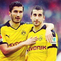 Nuri Sahin and Henrikh Mkhitaryan <3 - Borussia Dortmund #bvb09