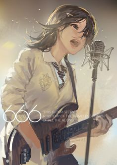 Yuna Singer Version Final Fantasy X by memoirehana on DeviantArt Art Anime, Anime Art Girl, Manga Anime, Singing Drawing, Anime Songs, Guitar Girl, Estilo Anime, Anime Girl Drawings, Anime Girl Cute