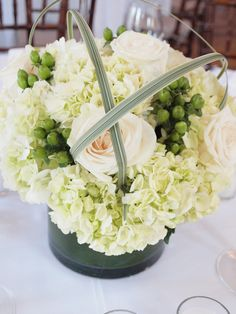 Great Harbor Yacht Club Wedding. Flowers by Soireé Floral