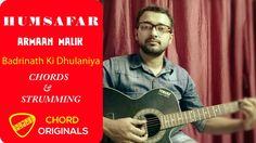 Humsafar  - Badrinath Ki Dhulania - Guitar lesson for beginners - New So...