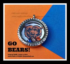 Book a party with me now to get your football locket. www.melissawelker.origamiowl.com or contact me at mwelkerlockets@gmail.com