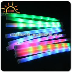 NEW LED Flashing EPE Foam Noodles Extrued Polyethylene Foam Pool Noodle Pool Toys Foam Noodle $2.98~$4.18