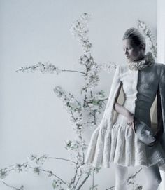 Kate Moss by Tim Walker for Love Autumn/Winter 2012