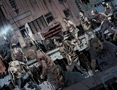The dead of night. #28DaysLater #28WeeksLater #LondonCalling #Zombies #undeads #ZombieHorde #zombiekillin #zombiekillinaction #Comics #BOOMStudios #ZombieComics #ZombieApocalypse #Zombified #Zombieland #zombieoutbreak #Horror #MichaelAlanNelson #DeclanShalvey #RageVirus #Hotzone #GhostTown #Homecoming