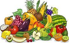 Fruits And Vegetables Group Cartoon Illustration Stock Photos - Image: 31429803 Fruit Cartoon, Cartoon Pics, Fruit Illustration, Food Illustrations, Food Design, Clipart, Fruits And Vegetables Names, Kids Cooking Activities, Vegetable Cartoon