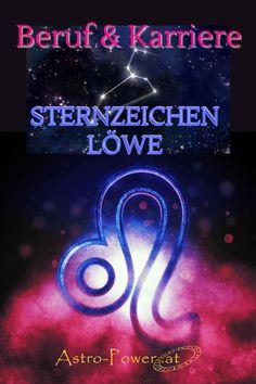Die Stärken des Löwezeichens liegen in seinem Organisationstalent und in seiner Bereitschaft Verantwortung zu übernehmen. Der Löwe besitzt ein riesiges schöpferisches Potenzial, dass er auch gerne im Job einsetzt. Löwemenschen werden für untergeordnete Positionen kaum für längere Zeit bereit sein, sie wollen Karriere machen wo sie bewundert werden und andere Menschen führen. #Astrologie, #astrologische Beratung, Horoskop, #Sternzeichen, #Sternzeichen Löwe, #Beruf, #Karriere Astrology, Leo Sign, Horoscope, Career, Finance, Thoughts