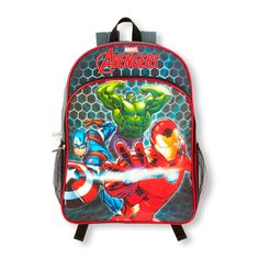 Boys Boys Avengers Light-Up Backpack - Multi - The Children s Place  Children s Place 6aa5b47bd4fb1